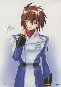 Gundam Seed destiny poster official Japan Kira Yamato