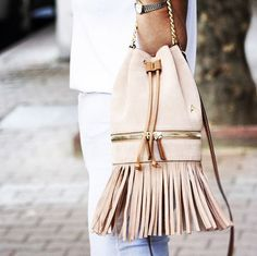 POWDER ! Fringed Zeal ... MANU Atelier Handcrafted Leather Goods, Handbags