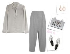 """""""Shades of Gray"""" by danielle-487 ❤ liked on Polyvore"""