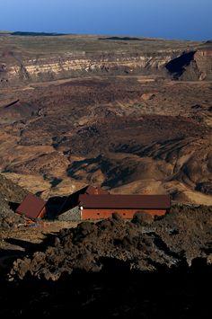 Refugio de Altavista. El Teide, La Orotava. Tenerife, Islas Canarias