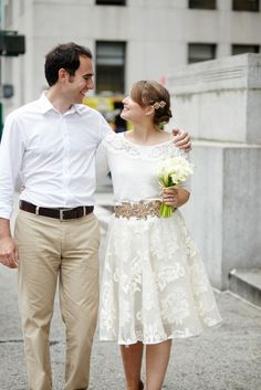1000 images about elopements on pinterest city hall for Dresses for a civil wedding ceremony