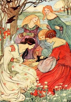 Florence Harrison (1877–1955) was an Art Nouveau and Pre-Raphaelite illustrator of poetry and children\'s books. Many of her books w