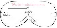 ♥ Blog Rafa Ferraz ♥: DIY - Máscara de Dormir