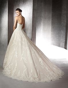 ZURANA, Wedding Dress #rosaygris