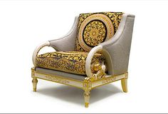 We supply all kinds of custom hotel furniture,custom home furniture and other custom commercial furniture. Casa Versace, Versace Home, Home Decor Furniture, Luxury Furniture, Furniture Design, Versace Furniture, Stylish Chairs, Classic Furniture, Minimalist Bedroom
