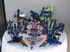 Transformers G1 Season 1 Decepticons