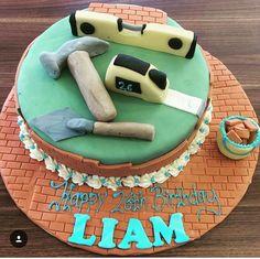 Tool themed birthday cake