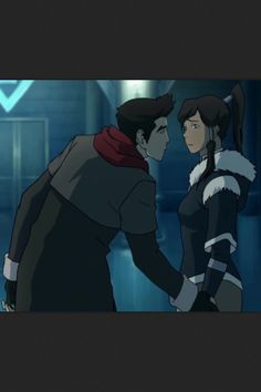 He has to lean down to hold her hand!! ASDJAHKFA HEIGHT DIFFERENCES!! Avatar Legend Of Aang, Korra Avatar, Legend Of Korra, Ill Always Love You, Love You Gif, Artsy Pics, Avatar World, Avatar The Last Airbender Art, Drawing Base