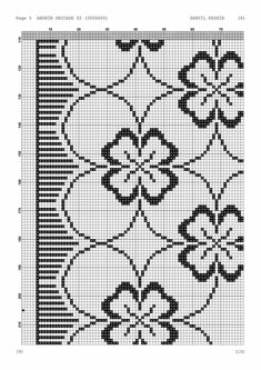 - Makramee World 2020 Cross Stitch Borders, Cross Stitch Rose, Cross Stitch Patterns, Blackwork Embroidery, Hand Embroidery, Embroidery Designs, Filet Crochet, Crochet Stitches, Hobbies And Crafts