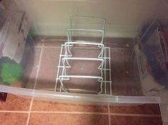 organizing keeping your cookie sheets and muffin pans neat, organizing, Check Dollar Store too To save money