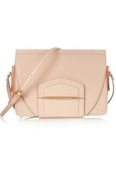 Nina Ricci Folded Case leather shoulder bag  | NET-A-PORTER