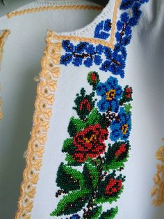 Traditional, Costumes, Embroidery, Beads, Model, Cross Stitch Embroidery, Ideas, Cross Stitch Art, Suspenders