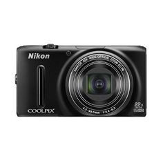 Nikon COOLPIX S9500 18.1 MP Digital Camera with 22x Zoom and Built-In Wi-Fi (Black)