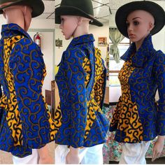 New ankara patchwork women blazer XS – Bust:32 Waist: 25 Hips: 35 (US Size:4, UK Size: 8) S – Bust:34 Waist: 27 Hips: 37 (US Size:6, UK Size: