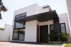 Fachada Casa Minimalista 2 Pisos