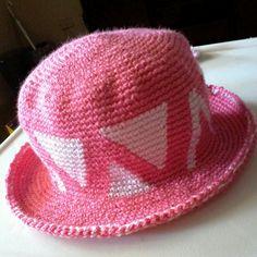 MARLY THIBES: Chapéu em crochê