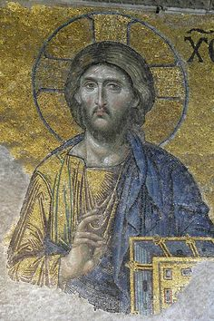 Christ the Savior Deesis Hagia Sophia