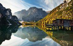 Lago Di Braies: Dolomites, Italy