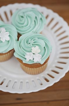 Spring, classic, cake, cakes, cupcakes, food, teal, treats, Spokane, Washington