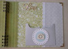 Agulkowy Świat Decoupage, Album, Love, Handmade, Amor, Hand Made, Card Book, Handarbeit