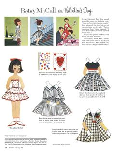 Betsy McCall 1957 - 12 pages