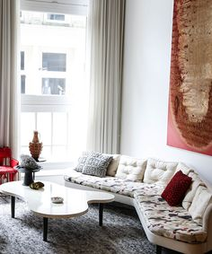 Designer Lela Rose Lets Us Into Her Amazing NYC Pad #refinery29  http://www.refinery29.com/new-potato/90