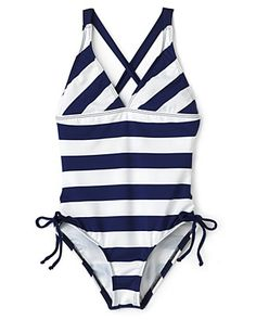 Splendid Girls' Swim Marcel One Piece Swimsuit - Sizes 7-14  PRICE: $56.00