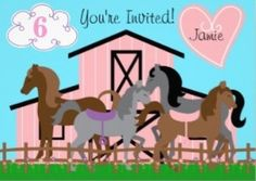 Host a fun Horse theme birthday party with the fun ideas featured on this page.