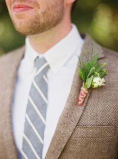 REVEL: Tweed + chambray groom