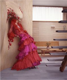 Christian Lacroix couture by fashion photographer Erwin Olaf Erwin Olaf, Christian Lacroix, Fashion Week, Fashion Art, Editorial Fashion, Fashion Design, Dress Fashion, Fashion Ideas, Johannes Vermeer