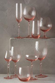 Elentina Glassware #anthropologie