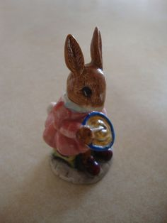 Royal Doulton Bunnykins figurine Buntie by mamasbuttontin on Etsy, $25.00
