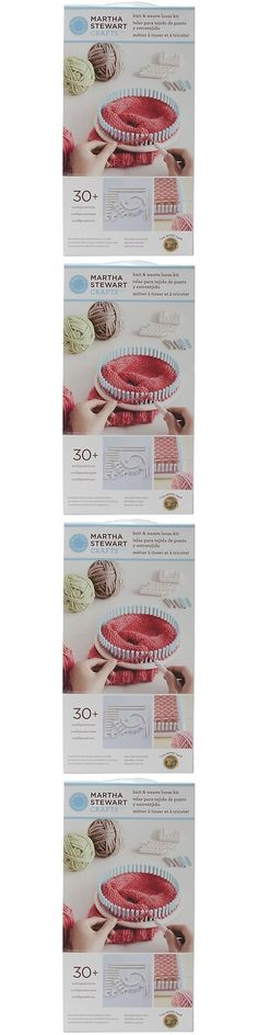 Knitting Boards and Looms 113343: Knit Kit Martha Stewart Knit And Weave Loom Kit Crafts Art Diy Knitting Weaving -> BUY IT NOW ONLY: $34.59 on eBay!