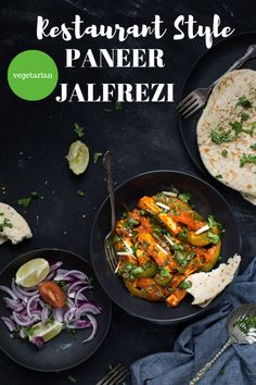 This vegetarian Restaurant style Paneer Jalfrezi is so flavourful, and comes together in 15 minutes. Prepared with hearty chunks of paneer and colourful vegetables. Lunch Recipes, Vegetarian Recipes, Dinner Recipes, Vegetarian Platter, Curry Recipes, Drink Recipes, Low Carb Appetizers, Appetizer Recipes, Appetizer Ideas