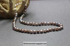 Echte Süßwasserperlenkette 45 cm lang in Perlenschmuck auf Uhrenmarkt Juppy24 Pearl Necklace, Pearls, Jewelry, Fashion, Pearl Jewelry, Clock, String Of Pearls, Moda, Jewlery