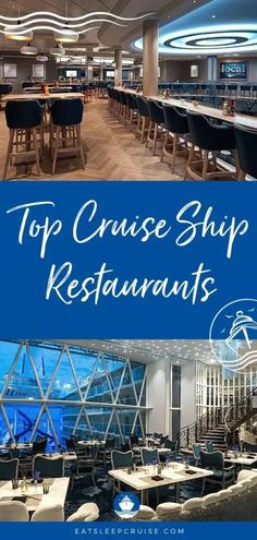 Best Cruise Restaurants to Try in 2021 - Dig into our post on the best cruise restaurants of 2021 to find out which cruise ships offer the best food and dining at sea! #cruise #cruisefood #cruisetips #eatsleepcruise