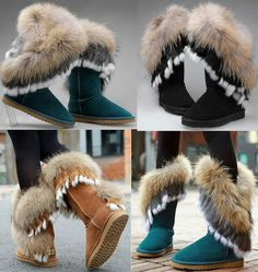 Wow...cute UGG mini boots with cool FUR...so lovely Which color do you prefer ? #thisisUgg #FW15 #blackfriday #repost #fashion #nyc #wearewinter
