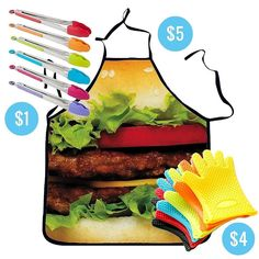 Planning any #BBQ get-togethers this #summer? Get all this on the #WishApp for under $10 and you'll be prepared! Link to buy in bio.