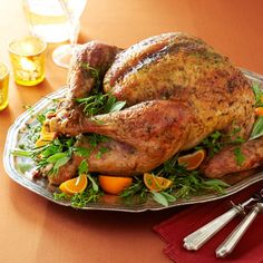 parsley sage rosemary and thyme roasted turkey by ina garten Thanksgiving Turkey, Thanksgiving Recipes, Holiday Recipes, Thanksgiving Countdown, Holiday Foods, Christmas Recipes, Ina Garten Roast Turkey, Ina Garten Turkey Recipe, Chester
