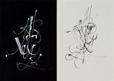 Alphabet Studies by Michael Zeyda, via Behance