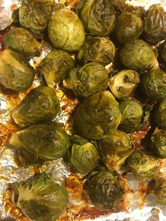 Hot Mess Chef Cooks the Dreaded Brussels Sprouts Growing up I always hated this veggie. It wasn't till I was older I realized why? My mom always cooked our veggies...