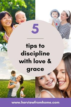Do you struggle with yelling and discipline? Here's five ways to integrate love and grace into your parenting. #faith #christianparenting #love #grace #kids #discipline #momlife #parentingtips Parenting Advice, Kids And Parenting, Christian Parenting, Christian Homemaking, Body After Baby, Kids Discipline, Breastfeeding Help, Becoming A Father, Toddler Behavior