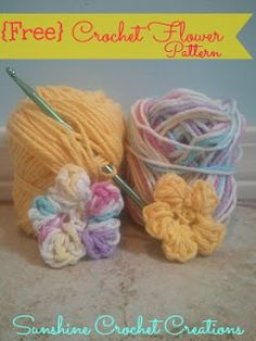 Crochet+Creations+Patterns | So, here Is my free flower pattern! It is quick and easy. Hope you ...