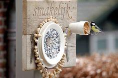 Maak een vogelvoerplacemat