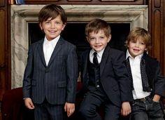 Kids New Pant Coat, Shirt, Jackets and Reardymade Bambino Fall Winter Outfits 2013 by Dolce & Gabbana