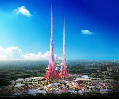 Las torres más altas del mundo serán rosas y ecológicas | Cóctel de ciencias