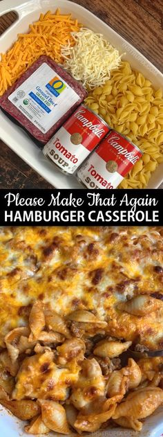 Personalized Graduation Gifts - Ideas To Pick Low Cost Graduation Offers Easy Hamburger Casserole Recipe 4 Ingredients - Instrupix Easy Hamburger Casserole, Easy Casserole Dishes, Hamburger Ideas, Pasta Casserole, Supper Ideas With Hamburger, Ground Beef Casserole, Meatball Recipes, Easy Healthy Casserole, Easy Meals With Hamburger Meat