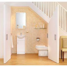 Image result for smallest bathroom under the eaves pinterest