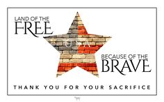 Land of the free. Because of the brave. #Veterans #Military #MemorialDay #USA