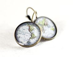Map Earring at $16,90